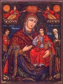 Holy Virgin with Saints